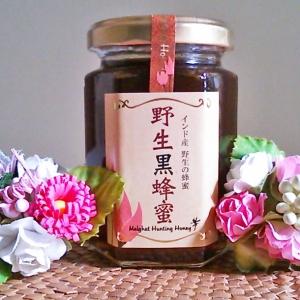 栄養満点ノドの痛みにも効くインド野生黒蜂蜜。