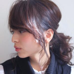 SORA 麻布十番店 本田さんに教わる大人可愛いポニーテール&春のトレンドヘア