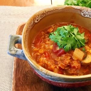 【痩せレシピ】体脂肪率-10%!? 燃焼系ダイエットスープ「スパイシーレンズ豆」