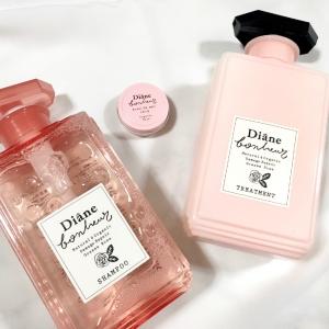 毎日使いたいヘアケアアイテムにも限定品が!希少なローズの香りとピンクのパッケージにも満たされる『ダイアンボヌール』