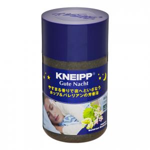 あったかリラックスで良質な眠りへ KNEIPPの「Gute Nacht バスソルト ホップ&バレリアンの香り」のご紹介