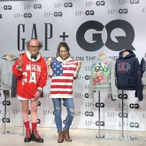 11/28発売!【GAP+GQ】豪華実力派デザイナー陣による、限定ロゴスウェット登場!