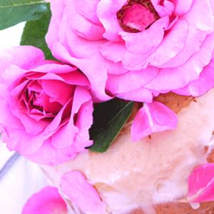 食べられるバラ!? お花と野菜のケーキで美肌に変身!