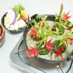 完全栄養食?話題のスーパーフード「モリンガ」を使ったみどり色のお鍋の味とは