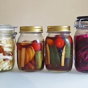 ダイエットにおすすめ酢漬け野菜。