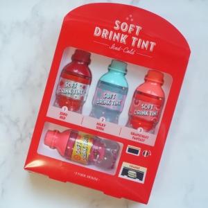 エチュードハウスの「ソフトドリンクティント」をお試し♡自動販売機のパッケージが可愛すぎる!