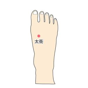 夏でも冷える足の指先を温める3つのツボ