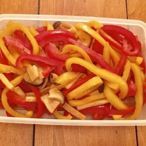 【糖質制限ダイエット弁当レシピ】パプリカとエリンギの醤油炒め煮