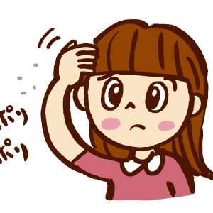 フケの原因は頭皮の乾燥と皮脂。正しいケアと洗髪方法