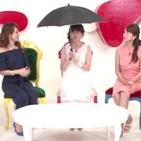 扇風機傘一本で日焼け&暑さ対策!
