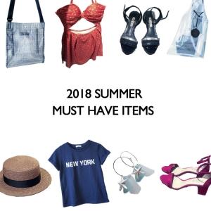 2018夏 絶対買いたいファッションアイテムはこれ!トレンド情報