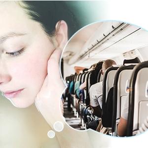 飛行機の機内はなぜ乾燥するの? その原因と対策便利アイテムを紹介