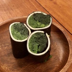 【痩せるお弁当】ほうれん草のチーズロール〜糖質制限にもgood!〜