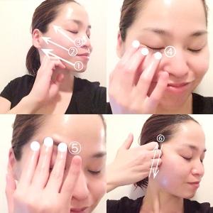 生理中のむくみ顔 簡単リセットマッサージ法