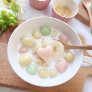 脂肪にバイバイ!豆腐で作った白玉のホットチェー