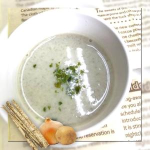 【レシピ】美腸でお肌ツヤツヤ。食物繊維たっぷり「ゴボウのポタージュスープ」