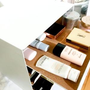 コスメ収納に超使える!IKEAの書類ケースでシンプルおしゃれに化粧品整理
