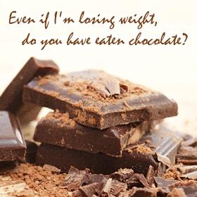 ダイエット中もOK! 罪悪感の少ない、太りにくいチョコレート